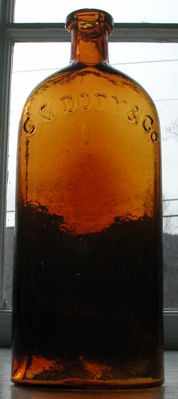 Antique pontiled medicine bottle for sale