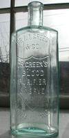 Vermont antique tonic medicine bottle