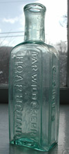 Philadelphia antique medicine bottle